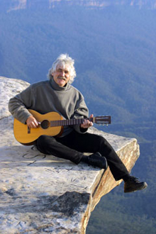 Folksinger, listen to Nigel Foot's album, Folk Music, Blue Mountains